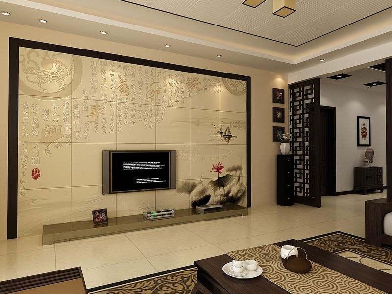 JH-1515 家装背景墙高端材料拼镜玻璃