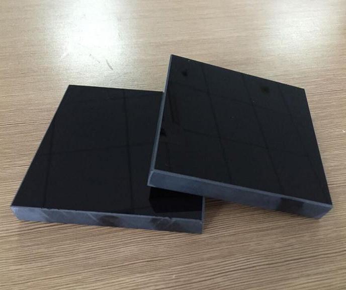 8-19mm纯黑色玻璃原片
