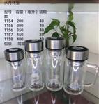 真品名牌的保证。西安新款希诺玻璃杯印字 西安广告玻璃水杯定做