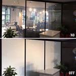 办公区隔断通电玻璃