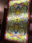 彩色钢化玻璃