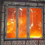 北航玻璃专业定制加工10mm防火玻璃隔断玻璃证书齐全