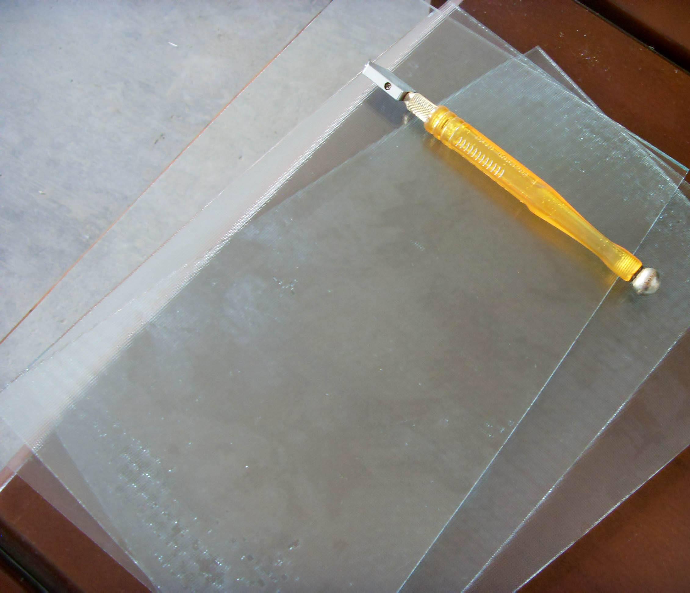 超薄小片浮法玻璃原片