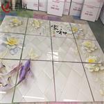 太原大同3D玻璃瓷砖5d背景墙打印机
