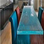 热熔玻璃 KTV背景墙玻璃 热熔艺术玻璃桌子 装饰玻璃