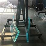 北航热弯玻璃加工厂批量加工超白热弯玻璃 热弯玻璃鱼缸