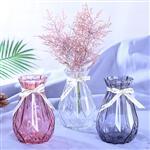 欧式花瓶彩色玻璃花瓶 15新诺 18新诺 25新诺