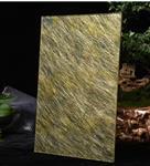 艺术玻璃厂定制夹丝云丝绢丝夹胶艺术玻璃屏风隔断山水画