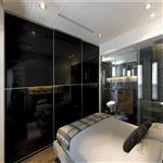 钢化黑玻璃 玻璃深加工厂专业定制加工3-25mm透亮黑玻璃