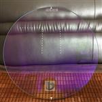 AR玻璃,双面镀增透膜钢化玻璃 4mm夹胶处理ar减反射玻璃