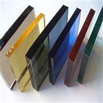 玻璃加工厂供应有色玻璃 黑玻 绿玻 蓝玻 灰玻 茶玻镀膜玻璃