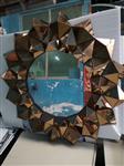 广东玻璃拼镜厂家专业加工银镜,茶镜,金茶镜艺术玻璃拼镜