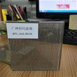 夹丝玻璃 夹绢丝玻璃 同民专业定制 钢化夹丝玻璃