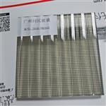 广州5+5厘夹丝玻璃 条纹玻璃夹丝玻璃