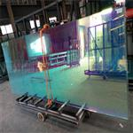 广州炫彩玻璃 幻彩玻璃 单片6厘钢化炫彩玻璃 户外用幻彩玻璃