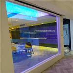广州炫彩玻璃 单片6厘钢化炫彩玻璃 幻彩玻璃