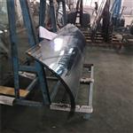 东莞热弯玻璃厂 生产热弯玻璃 12MM白玻 弧形钢化玻璃定做