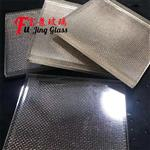夹金属网玻璃厂家供应广州富景玻璃