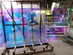艺术玻璃 彩色钢化玻璃 炫彩可变色装饰