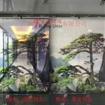 广州山水画调光玻璃厂家供应广州富景玻璃有限公司