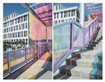 广州卓越炫彩变色玻璃