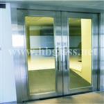 闭门器防火玻璃门