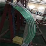 深圳12mm白玻/超白/镀膜弯钢化玻璃厂家直销