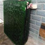 北京高档小区售楼部大堂水幕墙热熔玻璃 15mm厚