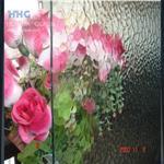 水波纹压花玻璃 隔断玻璃 淋浴房玻璃 装修玻璃 艺术玻璃