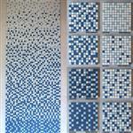 厂家直销泳池陶瓷材质25规格马赛克批发现货
