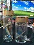 云南昆明水杯厂家玻璃杯玻璃瓶广告定制印字