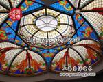 圆博直销彩色教堂镶嵌千亿国际966彩绘穹顶