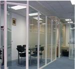 办公室钢化玻璃隔断安装多少钱 双井安装玻璃隔断
