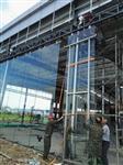 洛阳三门峡晋城15mm汽车展厅吊挂钢化玻璃设计安装