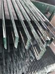 4mm磨斜边钢化丝印家电玻璃