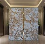 家用室内装饰玻璃 酒店艺术装饰玻璃