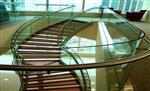 弯钢玻璃 超大弧形玻璃