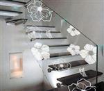 厂家承接UV数码打印玻璃幕墙背景墙钢化玻璃来图加工定制