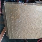 夹丝玻璃厂 专业定制装饰夹丝玻璃 夹丝材料 款式多样化