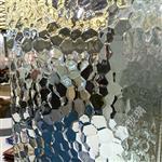 水立方压花玻璃 隔断玻璃 淋浴房玻璃 装修玻璃 艺术玻璃