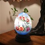 网红小夜灯创意温馨台灯卧室书房装饰台灯圆博手绘灯个性礼物