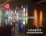 复古彩绘玻璃复古彩色玻璃窗