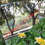 厂家直销pvc异形有机玻璃玩具镜片 pvc安全不碎镜