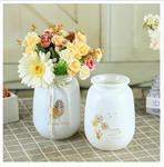 批发ins风玻璃瓶 创意插花水培透明复古玻璃摆件 北欧玻璃花瓶