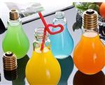 灯泡玻璃瓶 灯泡饮料瓶
