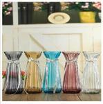透明玻璃花瓶水培花瓶装饰摆件花瓶简约花瓶欧式干花花瓶插花瓶