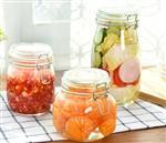 储物罐玻璃瓶潘多拉储藏瓶1.1L泡菜自制柠檬蜜密封罐