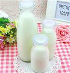厂家批发直销无铅耐高温酸奶瓶
