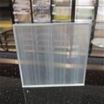 夹丝玻璃隔断 售楼部屏风夹丝玻璃 夹丝玻璃厂家