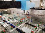 全新全自动玻璃门挖门夹加工中心
